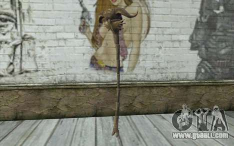 Skull of Corruption from Skyrim for GTA San Andreas second screenshot