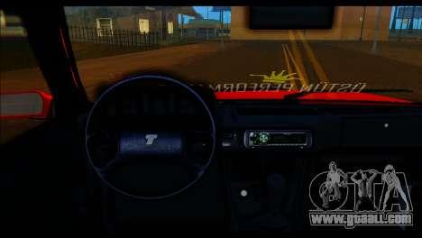 Tofas Dogan SLX Koni Clup for GTA San Andreas back left view