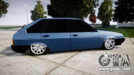 VAZ-Lada 2109 1500i for GTA 4 left view