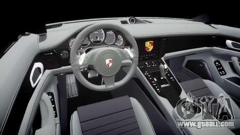 Porsche Panamera GTS 2014 for GTA 4 inner view