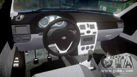 ВАЗ-2171 INSTALLED Prior rims2 for GTA 4 inner view