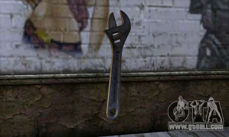 Wrench for GTA San Andreas second screenshot