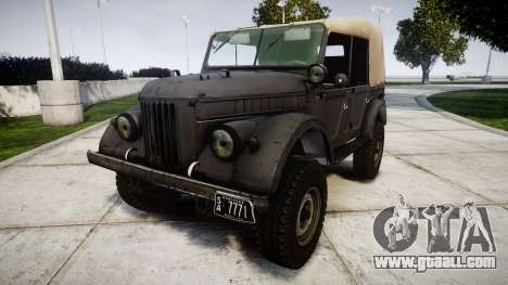 GAZ-69 for GTA 4