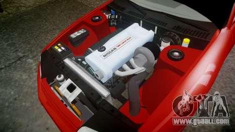 Nissan Skyline R32 GT-R for GTA 4 inner view