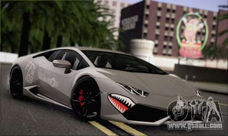 Lamborghini Huracan LP610-4 2015 Rim for GTA San Andreas inner view