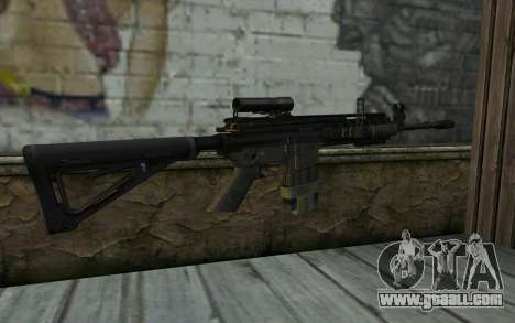 M4A1 from COD Modern Warfare 3 for GTA San Andreas second screenshot