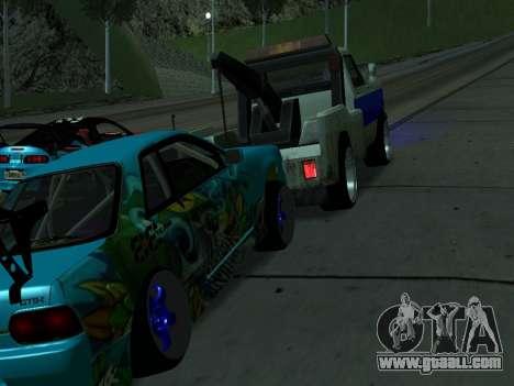 Nissan Skyline R34 EvilEmpire for GTA San Andreas right view