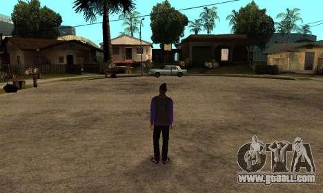 The Ballas Skin Pack for GTA San Andreas forth screenshot