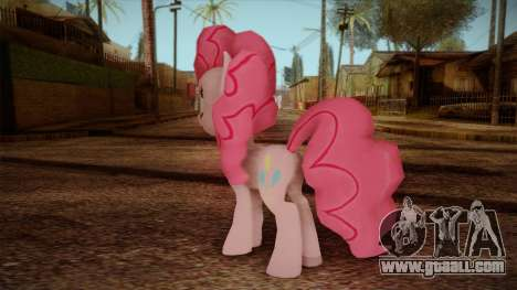 Pinkie Pie from My Little Pony for GTA San Andreas second screenshot