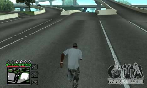 C-HUD by Niko for GTA San Andreas third screenshot