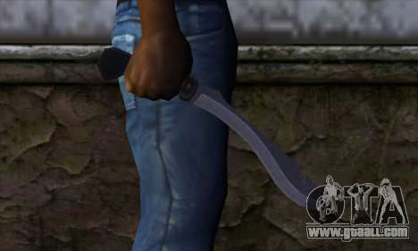 Machete from Far Cry for GTA San Andreas third screenshot
