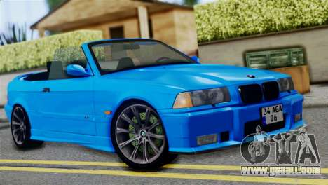 BMW M3 E36 Cabrio for GTA San Andreas