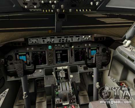 Boeing 737-800 XL Airways for GTA San Andreas interior