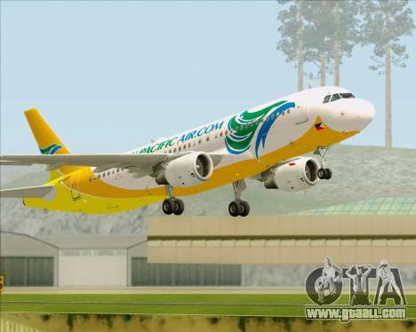 Airbus A320-200 Cebu Pacific Air for GTA San Andreas
