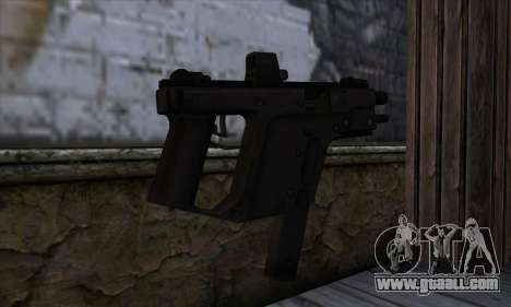 Tec9 from State of Decay for GTA San Andreas second screenshot