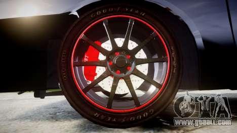 VAZ-2109 alloy for GTA 4 back view