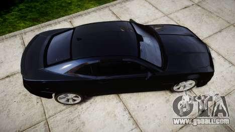 Chevrolet Camaro SS [ELS] Unmarked interceptors for GTA 4 right view