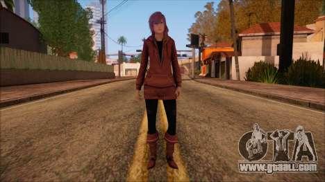 Modern Woman Skin 10 v2 for GTA San Andreas