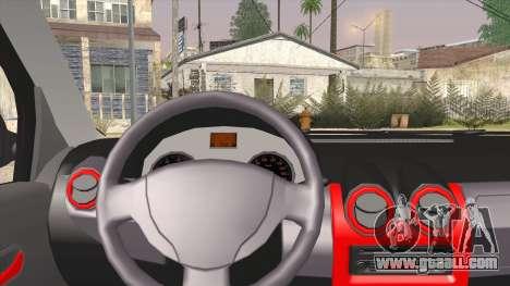 Dacia Logan for GTA San Andreas back left view