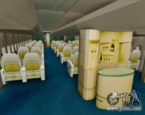 Airbus A380-800 Air China for GTA San Andreas
