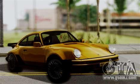 Porche 911 Turbo 1982 for GTA San Andreas