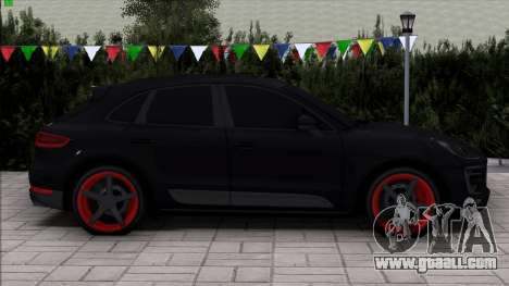 Porsche Macan Vossen for GTA San Andreas back view