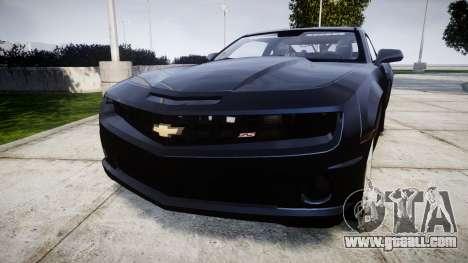 Chevrolet Camaro SS [ELS] Unmarked interceptors for GTA 4