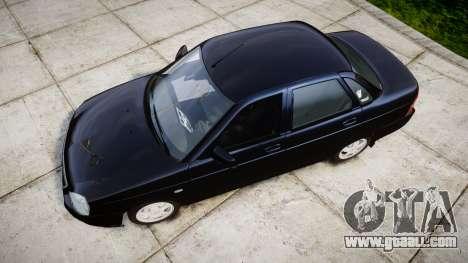 ВАЗ-2170 Lada Priora stock for GTA 4 right view