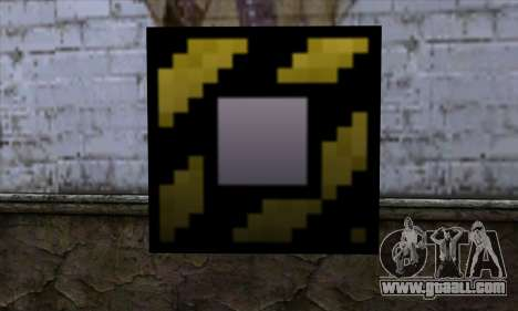 Block (Minecraft) v4 for GTA San Andreas