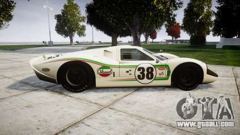 Ford GT40 Mark IV 1967 PJ Oilzanol 38 for GTA 4 left view
