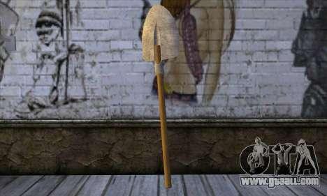 New Shovel for GTA San Andreas second screenshot