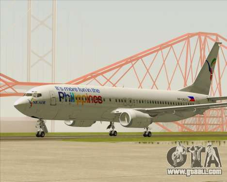 Boeing 737-800 South East Asian Airlines (SEAIR) for GTA San Andreas left view