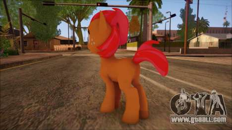 Babs Seed from My Little Pony for GTA San Andreas second screenshot
