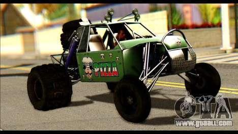 Buggy Fireball from Fireburst for GTA San Andreas