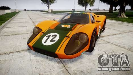 Ford GT40 Mark IV 1967 PJ Mudino 72 for GTA 4