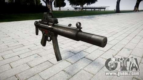 Gun MP5SD EOTHS CS for GTA 4