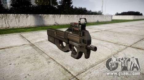 Belgian submachine gun, FN P90 for GTA 4