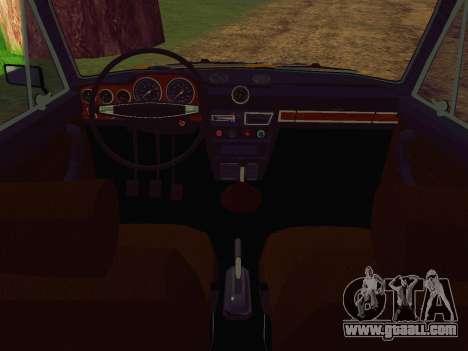 VAZ 2106 GAI for GTA San Andreas right view