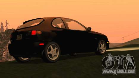 Daewoo Lanos Sport US 2001 for GTA San Andreas back left view
