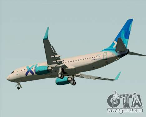 Boeing 737-800 XL Airways for GTA San Andreas