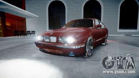 BMW M5 E34 1995 Stock for GTA 4