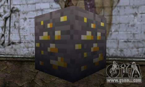 Block (Minecraft) v8 for GTA San Andreas second screenshot