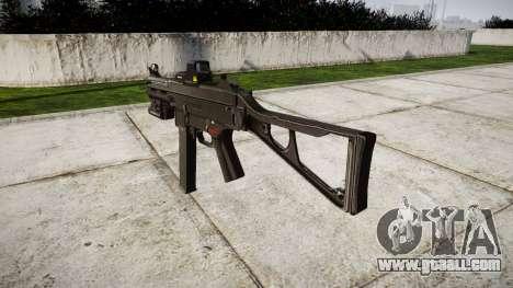 German submachine gun HK UMP 45 target for GTA 4 second screenshot