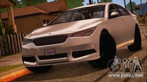 GTA 5 Ubermacht Sport IVF for GTA San Andreas