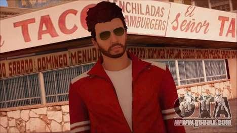 GTA 5 Online Skin 13 for GTA San Andreas third screenshot