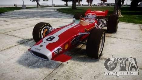 Lotus 49 1967 red for GTA 4