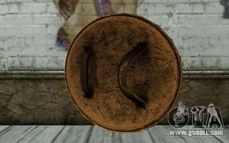 Old Gold Shield for GTA San Andreas second screenshot