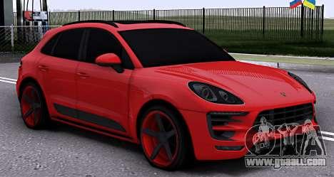 Porsche Macan Vossen for GTA San Andreas