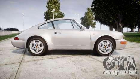Porsche 911 (964) Coupe for GTA 4 left view