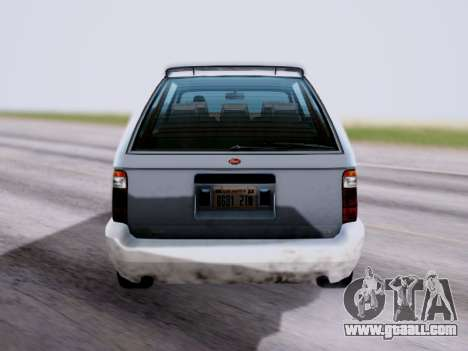 GTA V Minivan for GTA San Andreas back left view